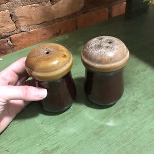 2/$27- set of ceramic salt and pepper shakers